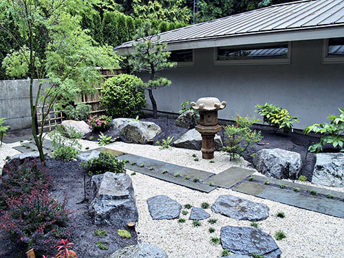 Wonderful ... Japanese Courtyard Garden Designs ...