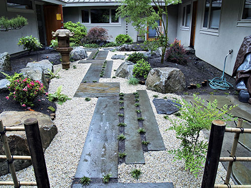 Japanese garden gallery 1 courtyard garden design for Japanese small garden design ideas
