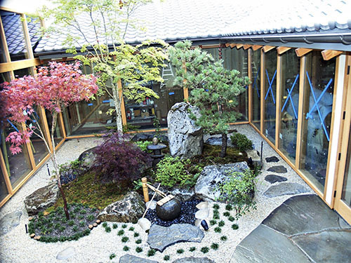 Japanese Garden Gallery 1 - Courtyard Garden Design on