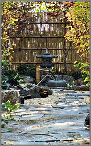 Japanese garden landscape community service for Japanese garden designs
