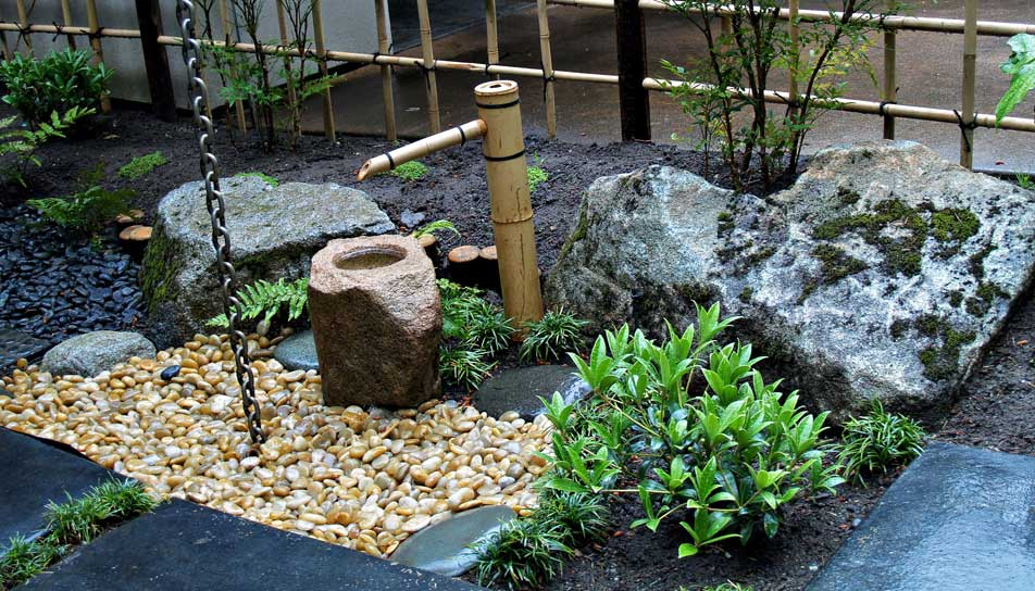 Japanese Water Garden Design Woodwork