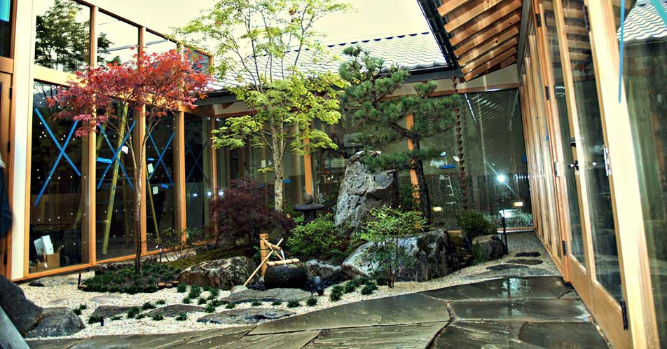 Japanese Courtyard Garden Design