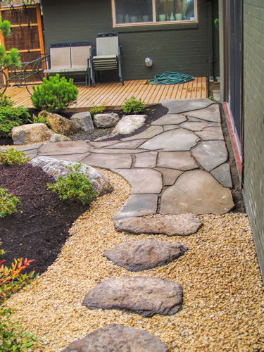 Plain Garden Design With Stones Ideas For Are Versatile V Decor
