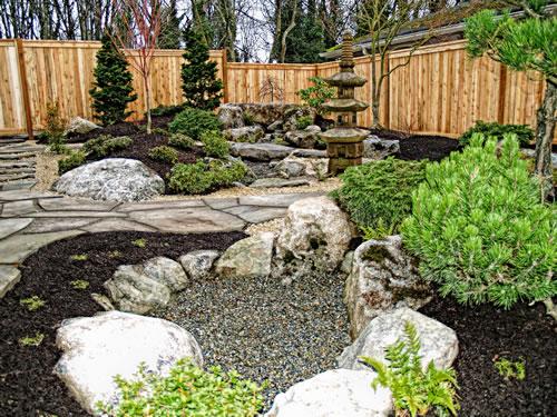 The Right Stone For Your Garden Design In Garden Design With Stones | Source