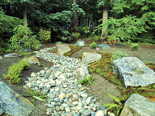 Japanese garden design principles for Japanese stone garden
