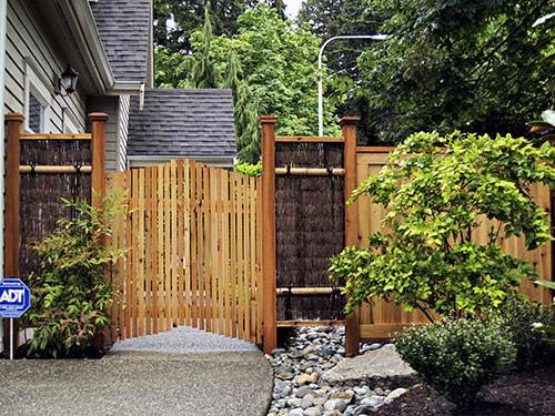 Japanese Garden Woodworks Wooden Gates Bamboo Fences