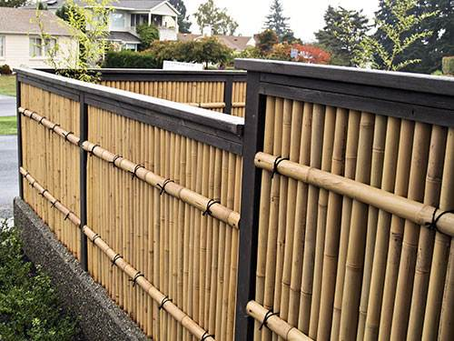 Japanese Garden Woodworks - Wooden Gates - Bamboo Fences