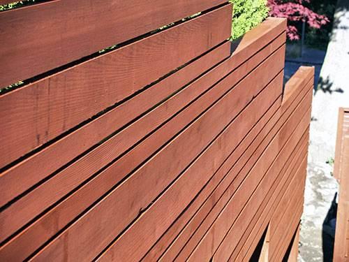 Japanese Garden Fence Woodwork ...