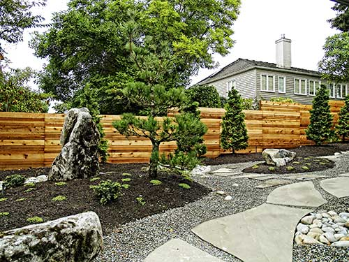 Japanese Bamboo Wood Fence Designs ...