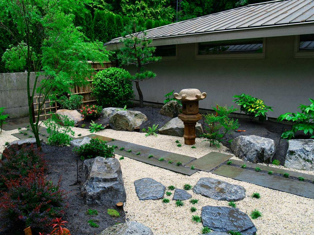 Landscape design with rocks american hwy for Landscaping rocks jacksonville